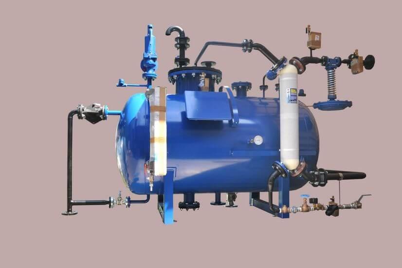 Stacja przygotowania wody bez kolumny odgazowania